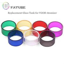 7 sztuk oryginalny wymienny szklany zbiornik dla VGOD ELITE RDTA tanie tanio FATUBE Szkło Proste typu VGOD RDTA 4ML