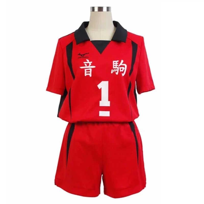 אנימה Haikyuu!! Nekoma תיכון קוספליי Kozume Kenma Kuroo Tetsurou מס 1 5 מטח כדור מועדון ג 'רזי תלבושות אחיד ספורטוויר