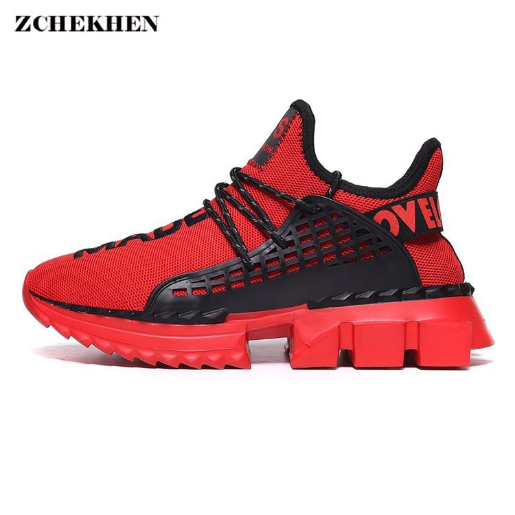 Ins Super Fashion Dad Men Sneakers Kanye Casual West Hip Hop Dancing Chunky Shoes Light Basket Tenis Masculino Adulto