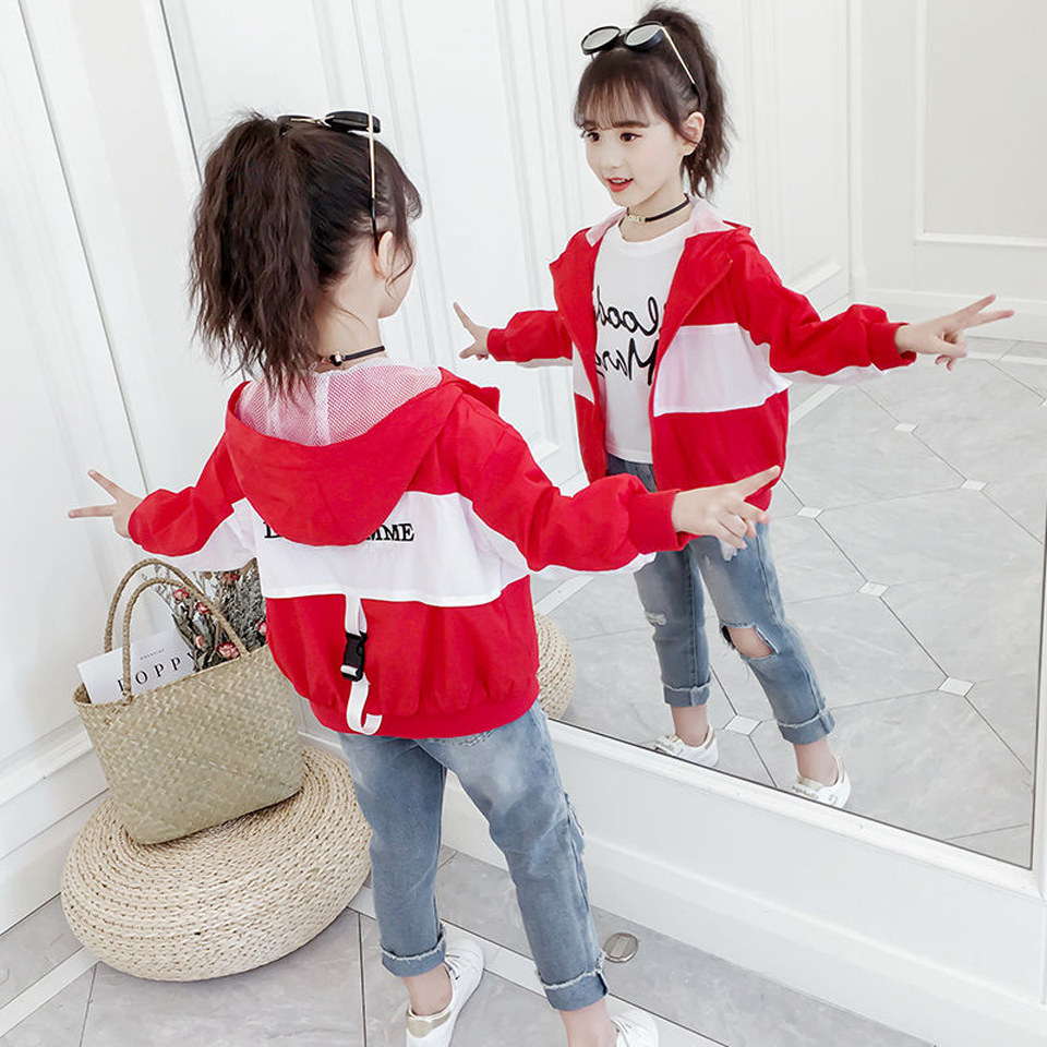 Franterd Baby Kids Girl Spring Autumn Trench Coat Fashion Wind Proof Jacket