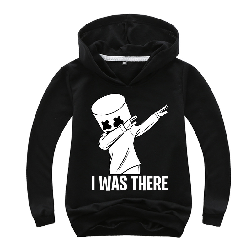 Hot Sales Korean Wave Marshmello Cotton Candy DJ New Style Explosive Hoodie 0290
