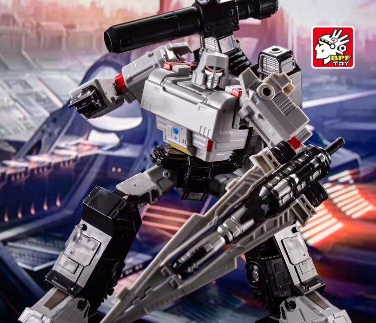 Lensple BPF Transformation BPF-02 Galvatron Megotroun Mgtron SIEGE Series Tank Mode Action Figure Robot Toys