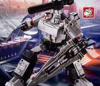 Lensple BPF Transformation BPF-02 Galvatron Megotroun Mgtron SIEGE Serie Tank Modus Action Figur Roboter Spielzeug