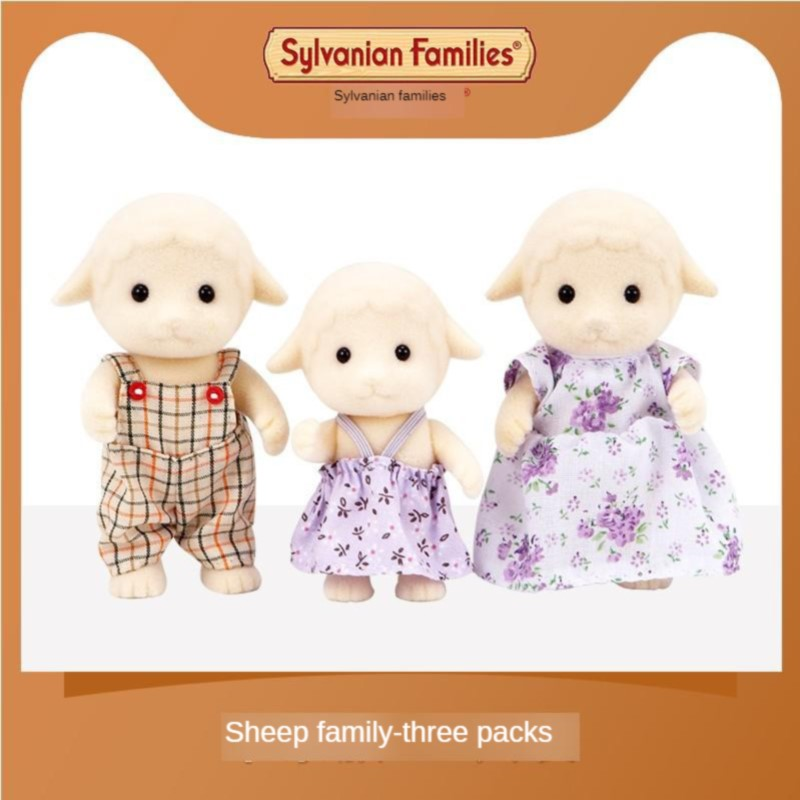 Sylvanian Families Toy Sylvanian Families Sheep Family GIRL'S Play House Doll 5127