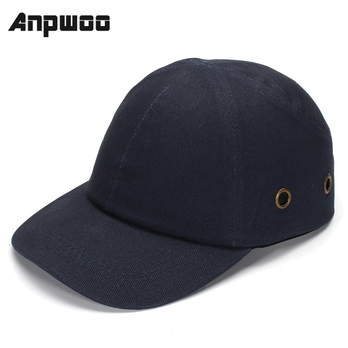 ANPWOO Blue Baseball Bump Caps - Lightweight Safety Hard Hat Head Protection Caps Workplace Safety Helmet