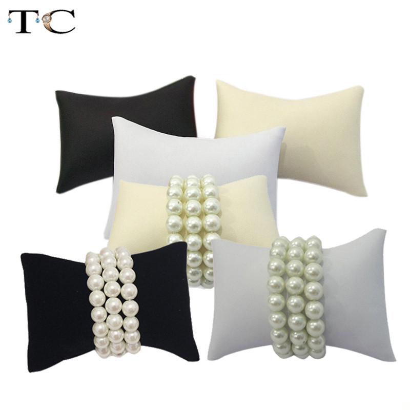 Retail Jewelry Bracelet Bangle Pillow Display Holder Watch Holder Display Pillows Bracelet Pillow Cushion Small Size