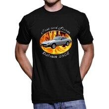 Datsun 280z rápido e feroz homem escuro t camisa