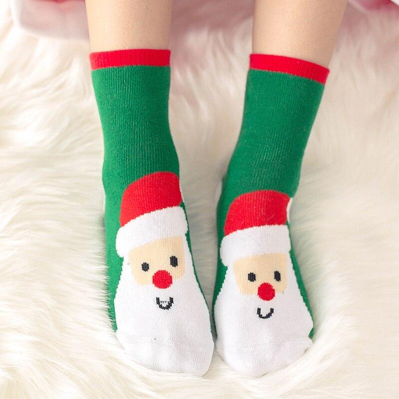 1 пара, рождественские подарки для детей, рождественские носки 25*8 см женские носки новогодние подарки, чулки рождественские подарки, год - Цвет: Type one