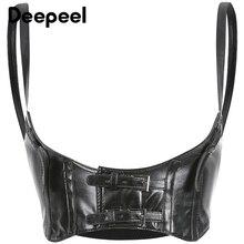 Deepeel 1pc 10cm*74cm Women PU Wide Sling Cummerbunds Leather Craft Accessories Girdle Retro Punk Style Girls Gift YK731