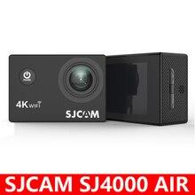 """기존 SJCAM SJ4000 에어 액션 카메라 Full HD Allwinner 4K @ 30fps WIFI 2.0 """"스크린 방수 수중 카메라 스포츠 DV 캠"""