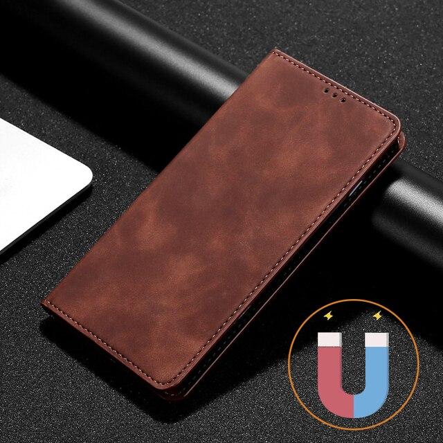 Flip Leather Case For Xiaomi Redmi Note 10 4 4X 5 6 7 8 9 8T 9T Pro 3 4 Magnetic Phone Case Redmi 3 4A 5 Plus 5A 8A Wallet Coque 1