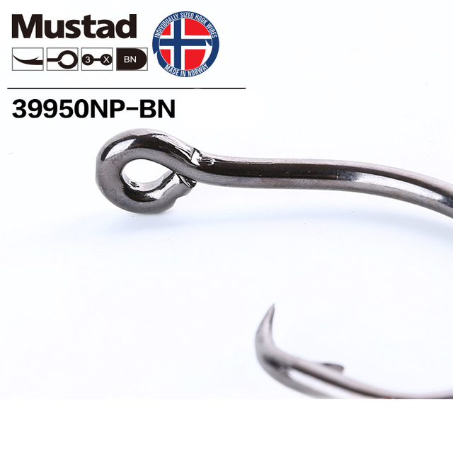 Best No.1 Mustad Norway Origin Fishing Hook High Carbon Fishhooks cb5feb1b7314637725a2e7: 10 0|12 0|4-0|6-0|8 0
