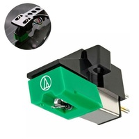1PC Audio Technica AT 95 E Moving Magnet Cartridge inclusive Stylus 20-20,000Hz 3 Speed 13mm Pitch Record Cartridge