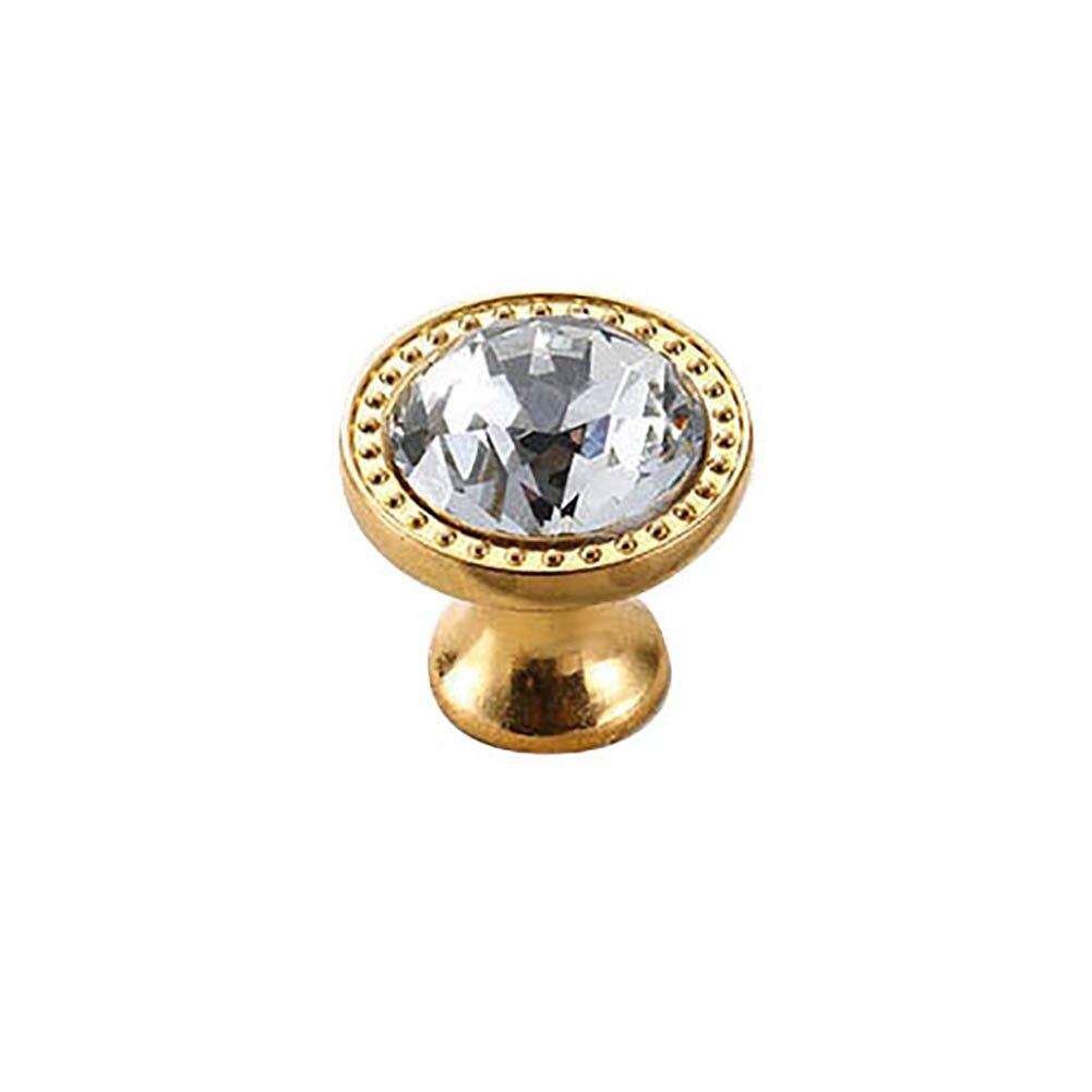 Европейский стиль металлический шкафчик с ящиками шкаф дверная ручка Алмазная форма кристальная стеклянная ручка оборудование для обработки мебели домашний декор