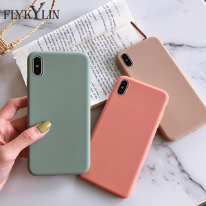 Candy Color Case For Samsung Galaxy S10 S8 S9 Plus S10e S7 edge Back Cover For Samsung Note 10 Plus 8 9 TPU Silicone Phone Coque