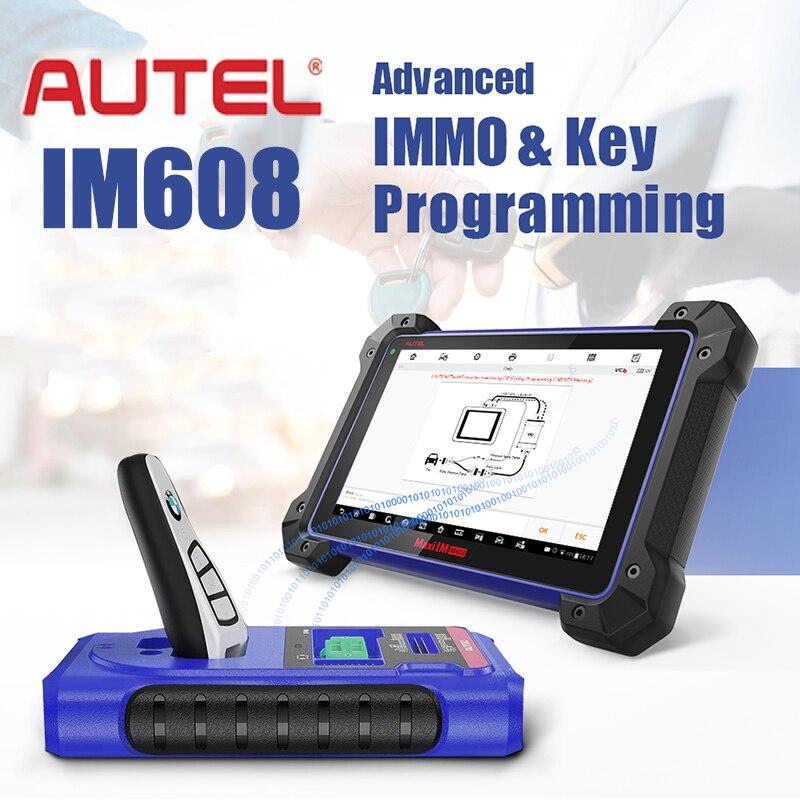 Autel IM608 XP400 Key Programmer Car Diagnostic Tool MaxiFlash ECU Programmer All Systems OBDII Diagnostic Scanner OBD2 Scanner|Engine Analyzer| - AliExpress