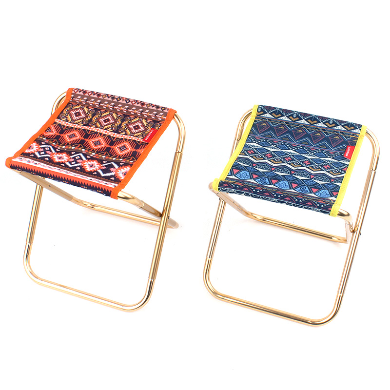 Aluminum Alloy Portable Folding Chair Lightweight Camping Chairs Adult Stool Durable Seat Foldable Beach fishing BBQ Chair
