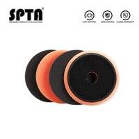 SPTA 6 дюймов (150 мм) EVA Тяжелые губки поролоновые полировальные накладки и полировальные колодки для 5 дюймов (125 мм) RO/DA/GA двойного действия поли...