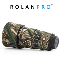 ROLANPRO Lens Coat for Nikon AF S 300mm F4E PF ED VR Protective Guns Clothing Camouflage Camera Coat Lens Protection Sleeve