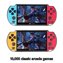 Handheld Game Console Built-in 10000 Games Video Game Consoles 4.3-inch Classic Dual-Shake Consolas De Videojuegos