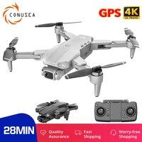 Quadricottero L900 RC con videocamera HD fpv Drone 4k GPS professionale 5G WIFI droni quadrocopter 28 minuti tempo di volo motore Brushless