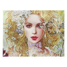 Красивый цветок 5D алмазная живопись особой формы вышивка рукоделие горный хрусталь кристалл вышивка крестиком Набор сделай сам