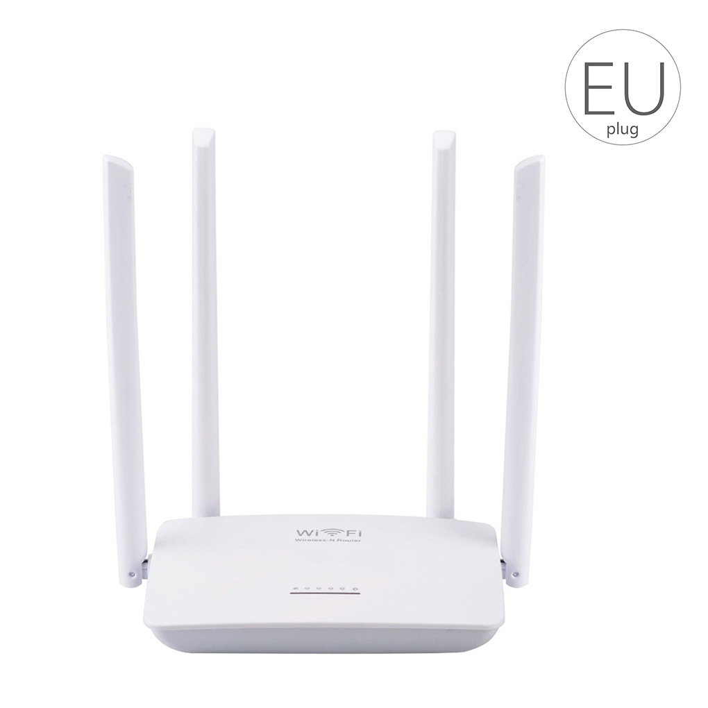 Wireless WiFi Router 802.11 B/g/n   300Mbps Smart High Power 4 Antennas Wide Coverage Wireless Routers Repeater