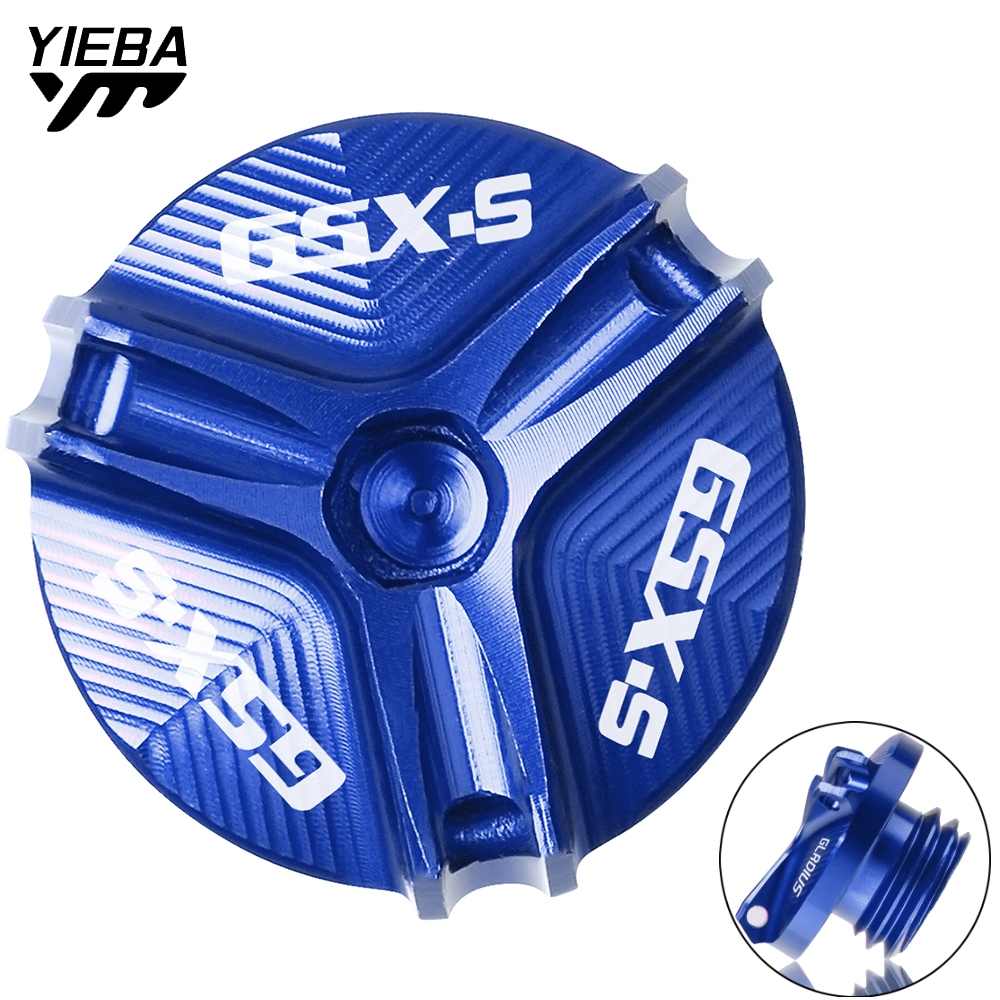 Motorcycle CNC Accessorie Oil Filler Fill Cap Plug Cover Engine Oil Cup FOR <font><b>SUZUKI</b></font> <font><b>GSX</b></font>-<font><b>S</b></font> <font><b>1000</b></font> GSXS 1000F <font><b>GSX</b></font> <font><b>S</b></font> <font><b>1000</b></font> F 2015-2020 image