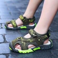 Летние сандалии для мальчиков детская одежда высокого качества