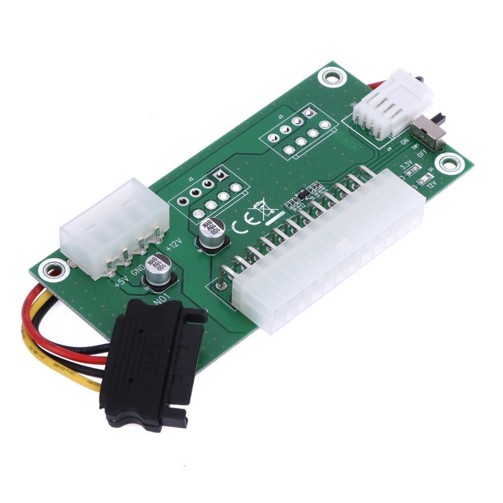 Converter Expanded Bitcoin Miner PC Mining Dual Desktop for Psu-Power Synchronous 24-Pin