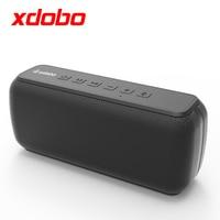 XDOBO X7 50W Bluetooth uyumlu hoparlör BT5.0 taşınabilir ses çalar IPX5 su geçirmez ses kutusu Subwoofer Boombox TF kart AUX