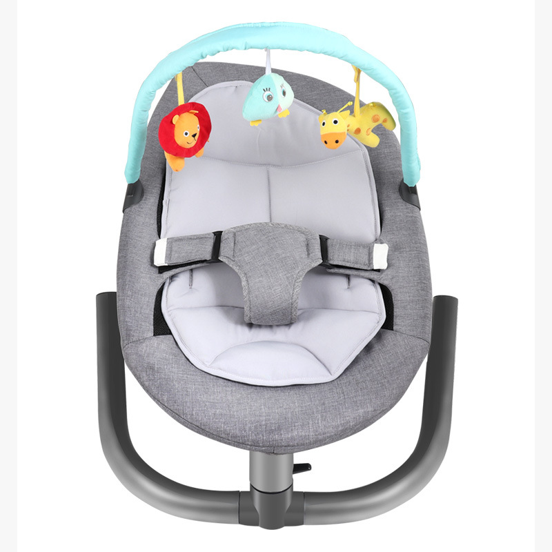 Infant Newborn Baby Rocking Chair Baby Electric Cradle Sleeping Chair With Pendant Toy Mosquito Net