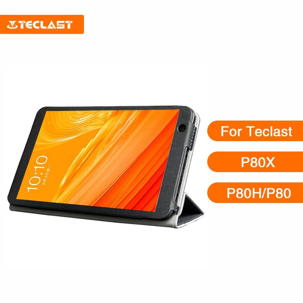 Teclast-funda de piel para Tablet P80X, 8 pulgadas, tecnología universal autoadhesiva