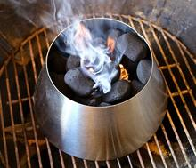 1/Pcs BBQ Whirlpool for Vortex Weber 22 Kettle Grill Accessories,Stainless Steel smoker accessories kitchen BBQaccessories