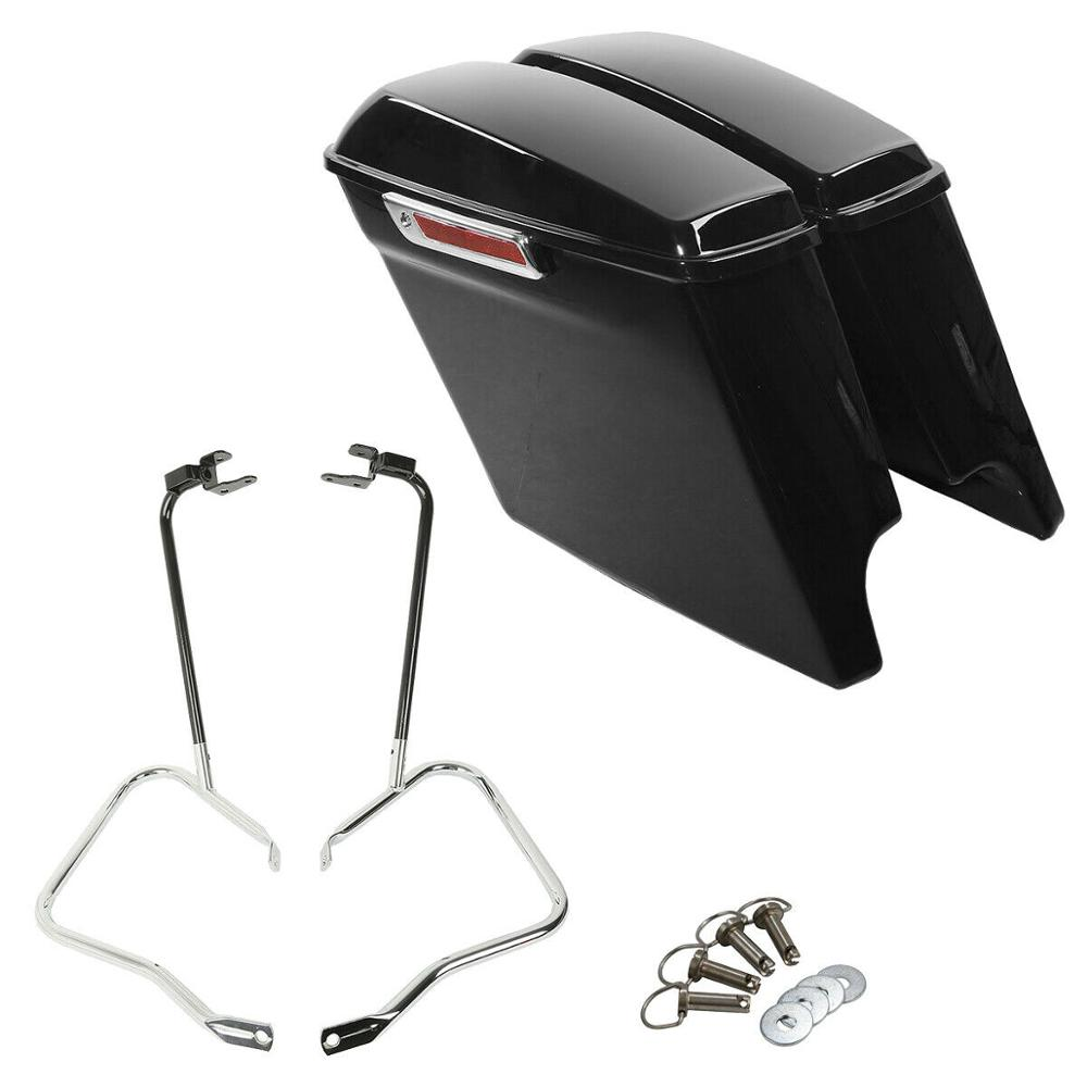 SLMOTO ABS Batwing Inner /& Outer Fairing For Harley Touring Street Electra Glide 96-13 12