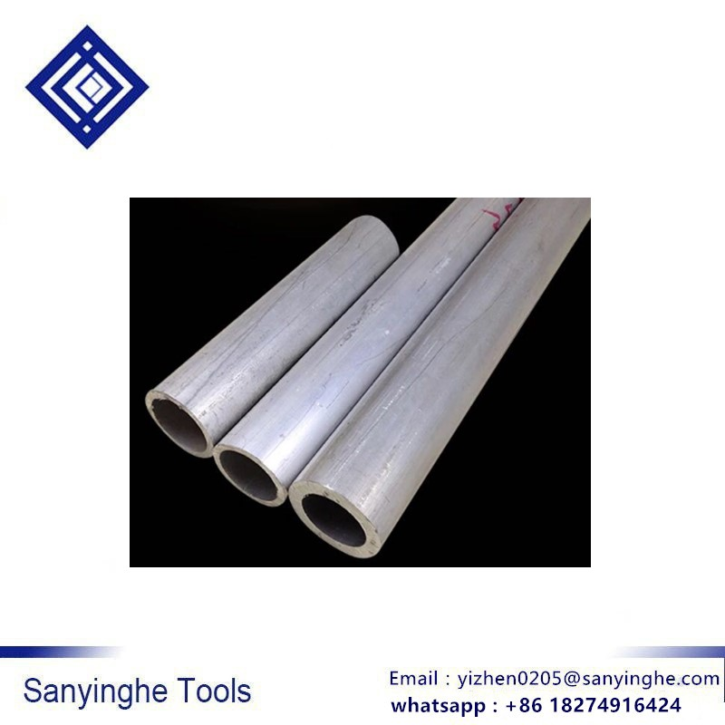 6063 Seamless Aluminum Round Straight Tubing 300mm Length 8mm OD 5mm ID