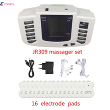 Электромассажер для стимуляции мышц, цифровой электронный массажер для похудения