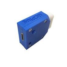 10PCS עבור NGC דיגיטלי AV פלט כדי מיני HDMI יציאת עבור Nintendo Gamecube מיני HDMI מתאם