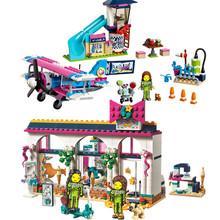 NEW Heartlake City Girls Airplane Tour Slide Andrea Accessories Store Building Blocks Bricks Sets Compatible Friends