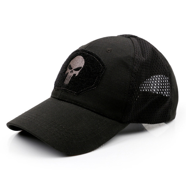 SKULL PUNISHER THEMED BASEBALL CAPS (10 VARIAN)