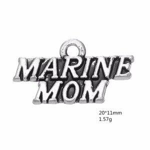 """Skyrim 20 шт. слово армейский морской «air force mom» и жена и брат и девочку одной стороны медальон Подвеска """"сделай сам"""" для изготовления ювелирных изделий для Семья членов"""