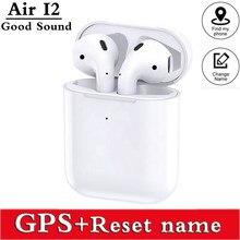 Airpoddings 2 bluetooth fone de ouvido sem fio fones música alta fidelidade esportes gaming headset para ios android telefone