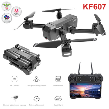 KF607 RC Drone With Camera GPS Upgraded Version 1080P/4K HD 5G Folding Drone Optical Flow Dual Camera Remote Control Quadcopter