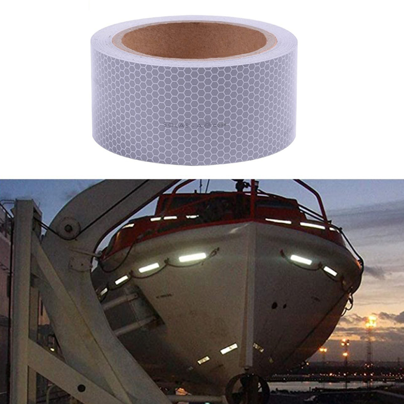 3M Self Adhesive Solas Grade Marine Reflective Tape For Lift Boat