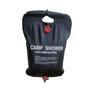 Натуральная походная сумка для душа 20 л, утолщенная Солнечная сумка для горячей воды, сумка для купания, мешок для сушки, сумка для купания