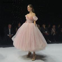 Женское вечернее платье smileven розовое ТРАПЕЦИЕВИДНОЕ ПЛАТЬЕ