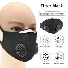 Unisex Anti-Virus KN95 Mask Level Five-layer Filter Riding Mask N95 Mask Reusable N95 FFP3 Mask FFP1 FFP2 Anti-Virus Mask