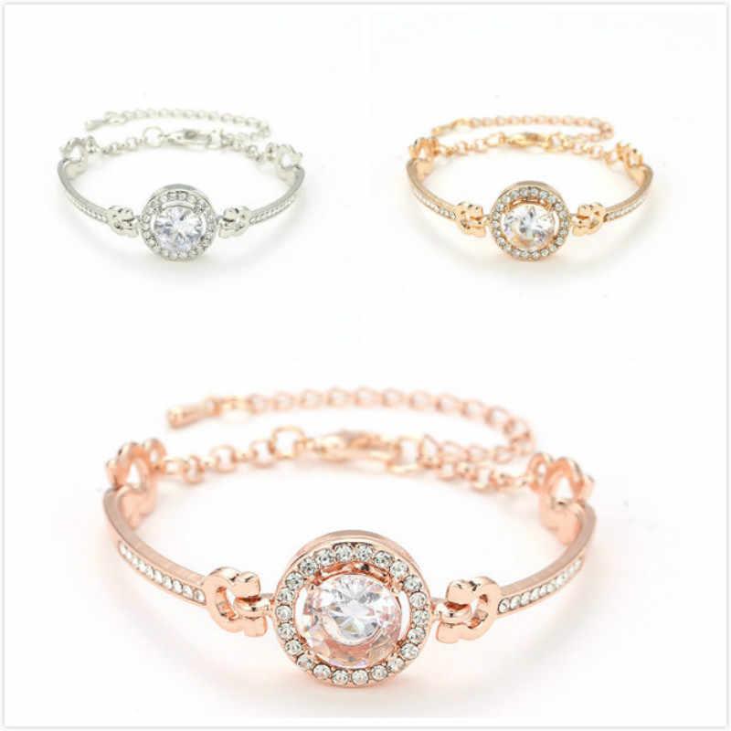 1 Pcs แฟชั่น Golden Bracelet PARTY Favors สำหรับสร้อยข้อมือวันวาเลนไทน์นำเสนอผู้เข้าพัก PARTY ของที่ระลึก
