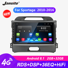 Jansite 9 Car Radio player For KIA Sportage 2010-2016 RDS autoradio Android 2G+32G Touch screen Mirror-link players with frame
