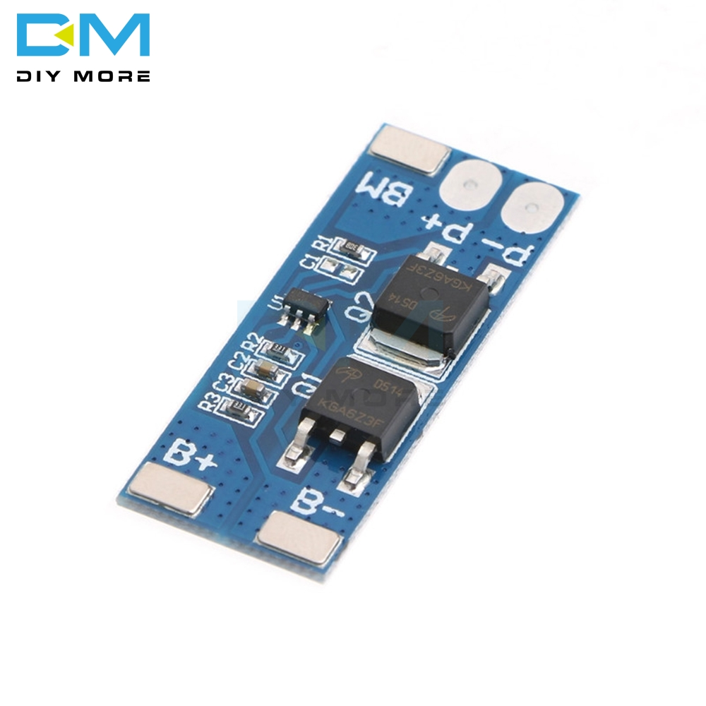 <font><b>2S</b></font> 8A Li-ion 7.4v 8.4V <font><b>18650</b></font> BMS PCM 15A Peak Current <font><b>Battery</b></font> Protection Board bms Pcm For Li-ion Lipo <font><b>battery</b></font> Cell <font><b>Pack</b></font> image